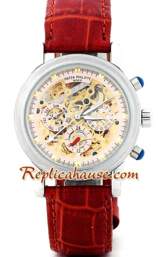 Patek philippe skeleton reloj rhsp2238 para 199 for Patek philippe skeleton