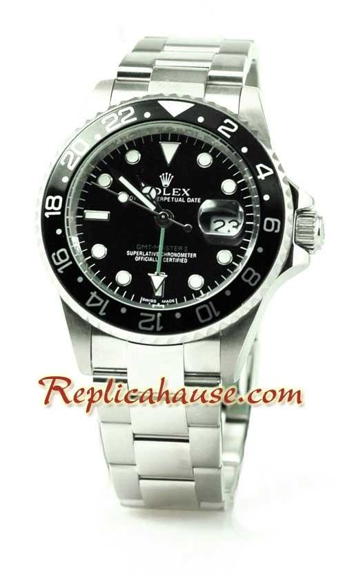 Rolex Réplica GMT Reloj - Bisel negro 2011 Edición