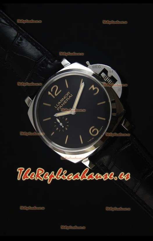 "Panerai Luminor Due 3 Days ""SLIM"" Acciaio 42MM Reloj Replica a Escala"