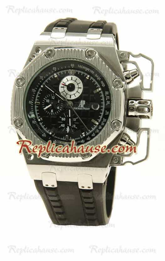 Audemars piguet royal oak offshore survivor cron grafo reloj r plica rhsp52 para 259 for Royal oak offshore survivor
