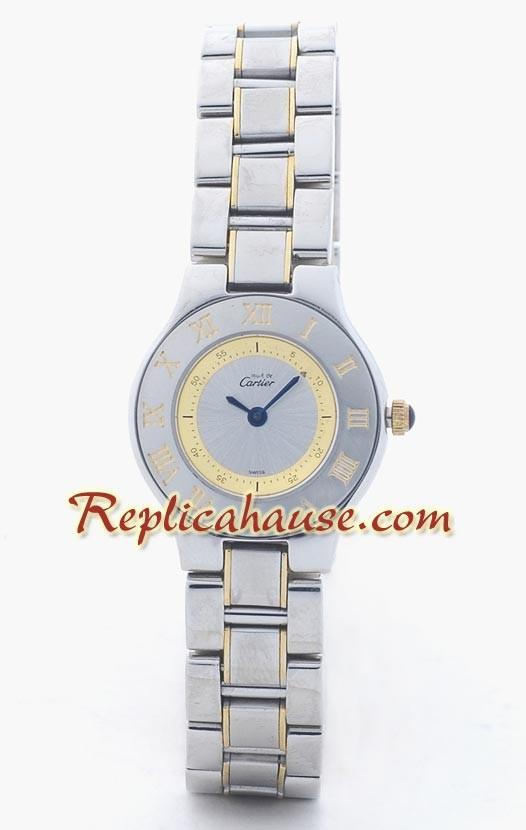 Cartier Réplica 21 Must De Reloj para Dama RHSP1035 para  189 7b3215981b5a