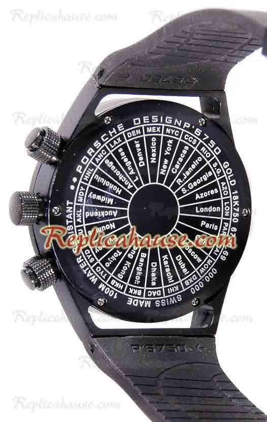 Porsche Design Worldtimer P6750 Cron 243 Grafo Reloj R 233 Plica