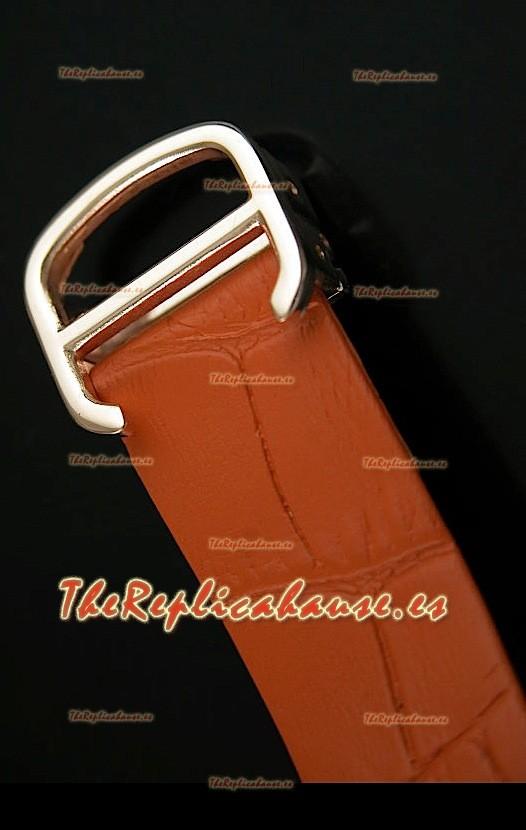 Cartier Tank Folle Para Damas R 233 Plica Carcasa De Oro