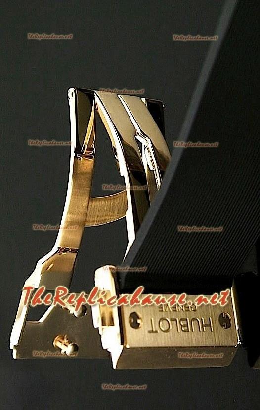 40467406f83e Hublot Vendome Reproducción Reloj Cronógrafo Suizo en Oro Rosa ...