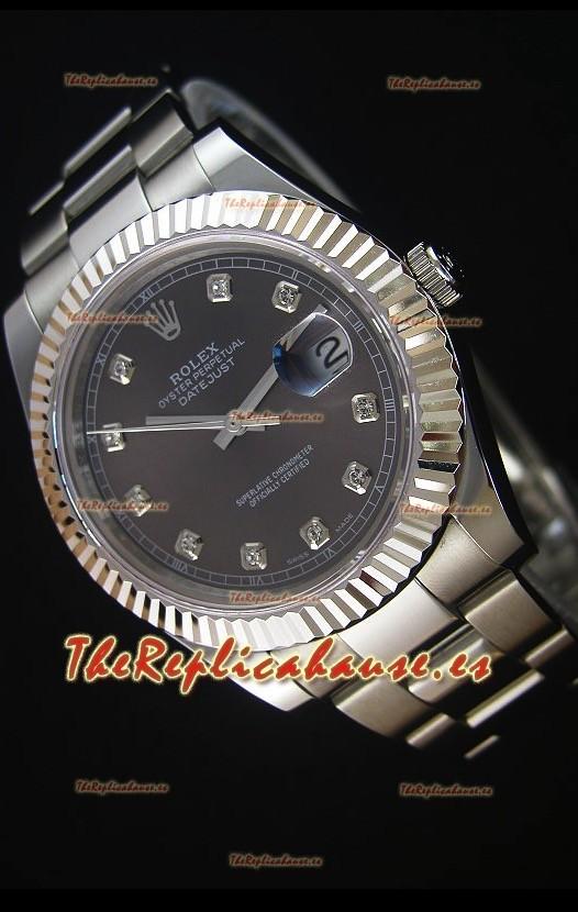 Mx 2017 6254 Rolex Datejust Ii 41mm Reloj Replica Suizo