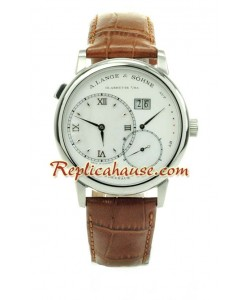 A. Lange Sohne Gry Lange 1 Leather Reloj