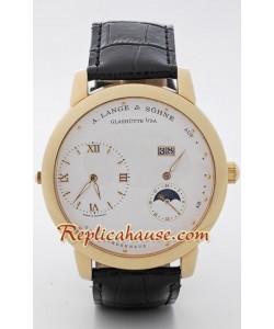 A. Lange Sohne Lange 1 Fases Lunares King tamaño Reloj