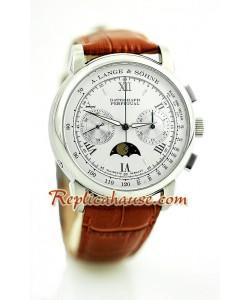 A. Lange Sohne Datograph Perpetual Reloj para hombre Suizo