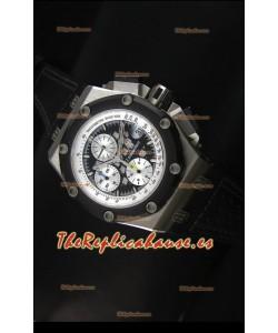 Audemars Piguet Royal Oak Offshore Rubens Barrichello Titanio Negro -  Réplica Espejo 1:1
