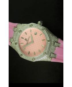 Audemars Piguet Royal Oak, Reloj de mujer en color Rosado