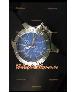 Ball Hydrocarbon Spacemaster Reloj Automático Correa de Goma con Dial Azul  - Movimiento Citizen Original