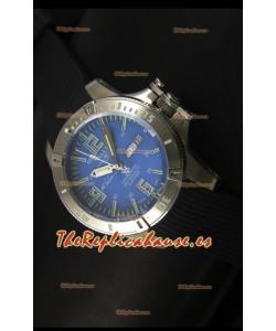 Ball Hydrocarbon Spacemaster Reloj Automático Day Date Correa de Goma Dial Azul - Movimiento Citizen Original