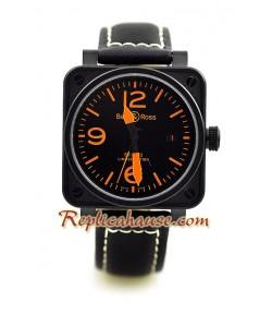 Bell and Ross BR01-92 Edición Limitada Reloj Suizo - Tamaño Medio