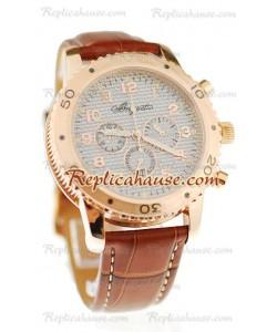 Breguet Fly-Back Cronógrafo Reloj Réplica