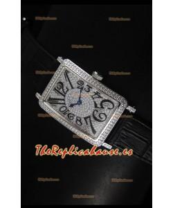Franck Muller Master of Complications Long Island Ladies Reloj en Acero Inoxidable