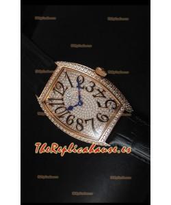Franck Muller Master of Complications Casablanca Ladies Reloj con Caja en Oro Rosado