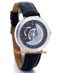 Glashuette Fases Lunares Reloj Réplica