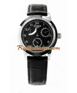 Glashuette Bateria de Reserva Reloj Réplica