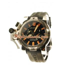 Graham Chronofighter Overtamaño Diver Reloj Réplica