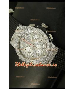 Hublot Edición Big Bang Bling, Reloj Réplica Suiza - Caja de Titanio