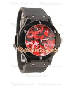 Hublot Big Bang Reloj Réplica Army Dial 48MM