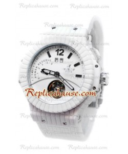 Hublot Big Bang Rubber Mat Tourbillon Bateria de Reserva Reloj