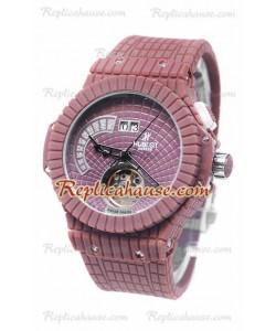 Hublot Red Caviar Tourbillon Reloj