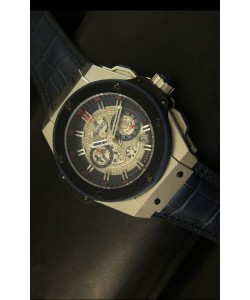 Hublot Big Bang King Reloj de Cuarzo Suizo en Acero Dial tipo Skeleton 45MM