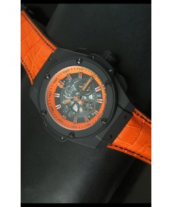 Hublot Big Bang Volcano Reloj de Cuarzo Suizo tipo Skeleton 45MM