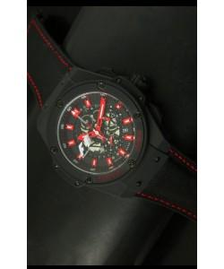 Hublot Big Bang King F1 Edición MONZA Reloj de Cuarzo Suizo con revestimiento PVD 45MM