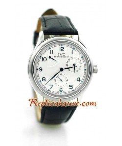 IWC Réplica Bateria de Reserva Reloj