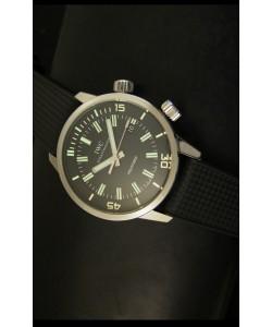 IWC Aquatimer Automatic Vintage 1967 Reloj Suizo Dial Negro