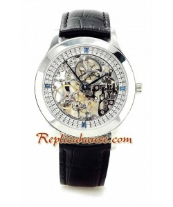 Jaeger LeCoultre Skeleton Reloj Suizo de imitación