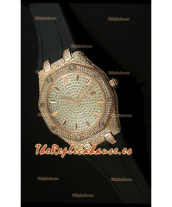 Audemars Piguet Royal Oak, Reloj Réplica de mujer, Edición Dial en Diamantes