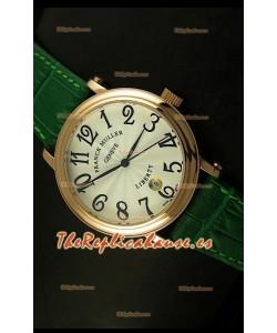Franck Muller Master of Complications Liberty, Reloj Japonés, correa verde