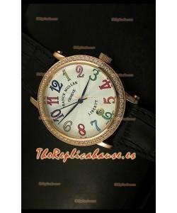 Franck Muller Master of Complications Liberty, Reloj Japonés, correa negra