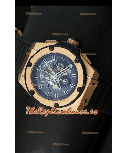 Hublot Big Bang King Power Formula 1, Reloj Suizo en caja de Oro Rosado
