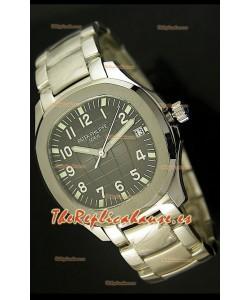 Patek Philippe 5167 Aquanaut Jumbo Reloj Réplica Suiza - réplica en escala 1:1, Dial Gris