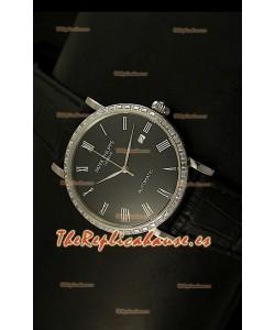 Patek Philippe Calatrava 5120 Reloj Réplica Suiza en Acero - Horas en Números Romanos