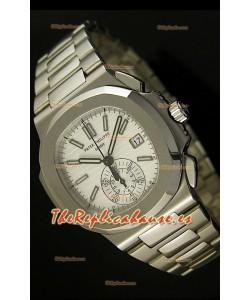 Patek Philippe Nautilus 5980 Reloj Réplica Suiza cronógrafo - réplica en escala 1:1