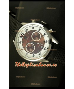 Tag Heuer Carrera Calibre 36 Flyback Reloj Réplica - Movimiento de Cuarzo