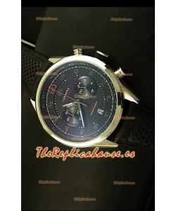 Tag Heuer Carrera Calibre 36 Flyback, Reloj Réplica, Dial Negro - Movimiento de Cuarzo