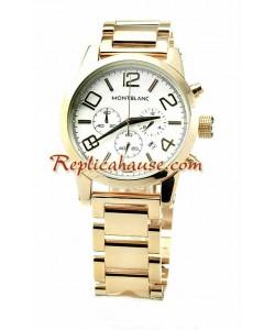 Mont Blanc Timewalker Gold Reloj Réplica