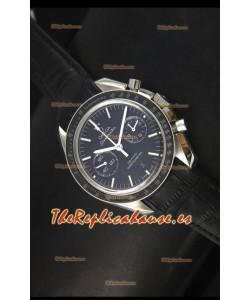 Omega Speedmaster Moon Reloj Suizo Co-Axial en Acero Inoxidable - Réplica Espejo 1:1