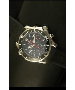 Omega Seamaster 300M Reloj Suizo Edición Emiratos - Réplica a Escala 1:1