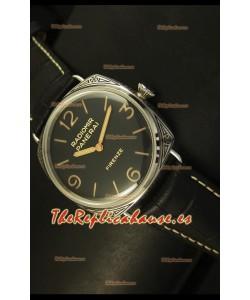 Panerai Radiomir PAM604 3 Days Acciaio Reloj Suizo - Réplica Espejo 1:1