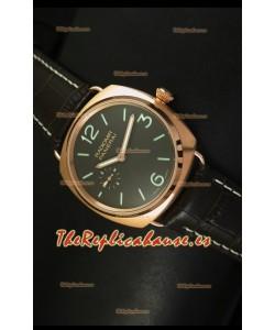 Panerai Radiomir Model PAM00336 Reloj Suizo en Oro Rosado - Edición Espejo 1:1