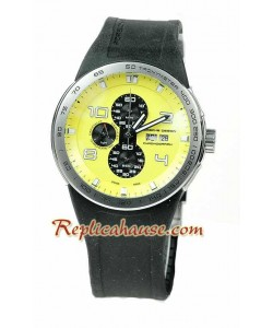 Porsche Design Flat Six P6340 Cronógrafo Reloj Réplica