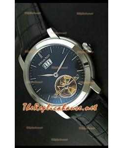 Edición japonesa del reloj de esfera negra Audemars Piguet Jules Audemars.