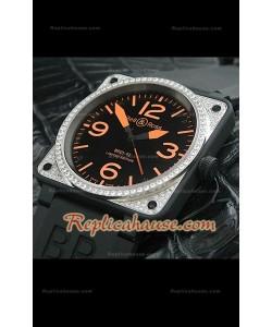 Bell y Ross BR01-92 Reloj Suizo en PVD